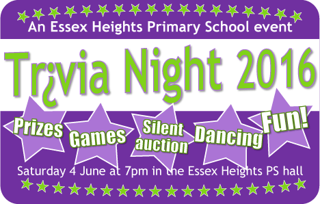 Trivia Night 2016 ad